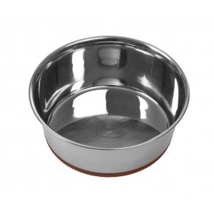 BUSTER hundeskål m/siliconebund, rød