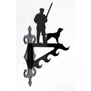 Vildt krog m. hund lille By Brorson