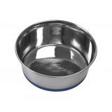 BUSTER hundeskål m/siliconebund, blå